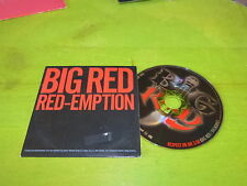 BIG RED - RED-MPTION !!!!!!!!!!!!! RAP OLD SCHOOL!!!!!RARE CD!!!PROMO!!!!!!!!!!!