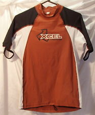 XCel UV Protection Rash Guard Surf Shirt T-Shirt Spandex/Nylon Kids Sz Large