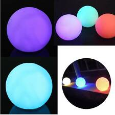 LED Color Changing Mood Ball Shaped Night Calm Light Home Room Decor Lamp