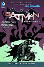 BATMAN: NIGHT OF THE OWLS TP SCOTT SNYDER DC NEW 52