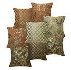 Damask Stripe Flower Checker Cotton Blend Cushion Cover/Pillow Case Custom Siz
