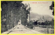 cpa 48 - MENDE (Languedoc Roussillon) AVENUE PIENCOURT Animée Edition PLANCHON