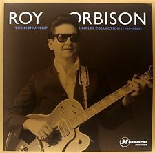 Monument Singles Collection - Roy Orbison (2011, Vinyl NEUF)2 DISC SET