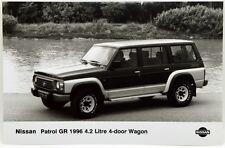 Fotografia Originale - Nissan Patrol GR 1996 4,2 Litre 4-Door Wagon