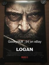 Logan DS Theatrical Movie Poster 27x40