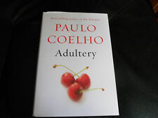 PAULO COELHO SIGNED - ADULTERY - Limited First Hardcover Edition - New