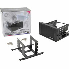 "Evercool HD-AR-BK ARMOR 2x 5.25"" Drive Bay to 3x 3.5 HDD 4x 2.5 HDD Cooling Box"