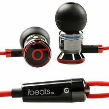USA SELLER-Original Beats by Dre iBeats In Ear Headphones Earphones-BLACK-Bulk