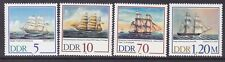Germany DDR 2703-06 MNH 1988 Various Paintings of old Sailing Ships Full Set