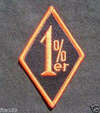 1%ER PATCH BIKIE BIKER REBEL VEST CLUBS  EMBROIDED FOR VEST SHIRT CAP HELMET