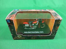 New Ray 1/64 Diecast 1947 Indian Sport Scout Babber Mint in Box BX55