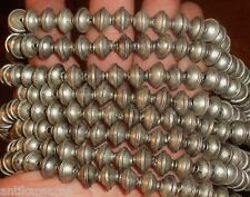 20 Perles Ethnique Metal Biconique Maroc 11mm Tribal Ethnic Tribal Bead Morocco