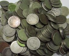 (20) Liberty V Nickel Lot // 1800's+1900's // 20 Coins // Low Grade