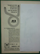 2/65 PUB MEA MIDDLE EAST AIRLINES AIR LIBAN AIR FRANCE COMET CARAVELLE FRENCH AD