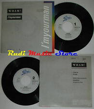 LP 45 7'' WHAM! I'm your man Do it right 1985 holland GEORGE MICHAEL cd mc dvd *
