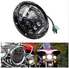 7 INCH LED HEADLIGHT HI/LOW BEAM WITH DRL FOR ALL ROYAL ENFIELD BIKES 1PC