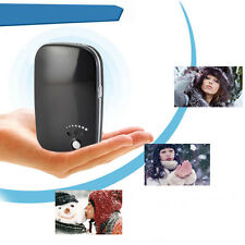 USB Charger Pocket Electric Hand Warmer Heater Rechargeable Led Light Portable
