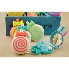 Etui à Lentilles de Contact Forme de Lollipop Boîte Portable (Couleur Aléatoire)