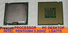 lotto 2 x CPU INTEL Pentium4 P4 3.2GHZ FSB800 540J SOCKET LGA775 SL7PW Prescott