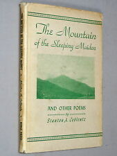 Mountain of the SLEEPING MAIDEN & Other Poems - Stanton A. Coblentz 1946) SIGNED