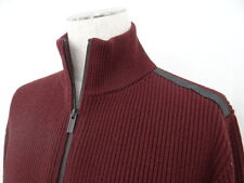 Auth HERMES Sweater Wool Knit Zip-up Jacket Italy $0 Shipping 31120355100 112BX