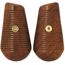 New Repro MAUSER C96 BROOM HANDLE PISTOL GRIPS - Wooden German Army Handle