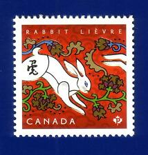 Canada 2011 Year of the Rabbit Stamp (#2416) MNH !