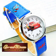 Montre Enfant - Bleu - Cars | Blue Cars Child Watch