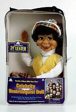 LESTER VENTRILOQUIST DUMMY DOLL PUPPET! NEW!