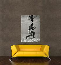 POSTER PRINT VINTAGE PHOTO SPORT BOXING LEGEND MUHAMMAD ALI UNDERWATER SEB277