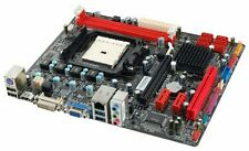 Biostar Mother Board A75MH Support AMD FM1 DDR3 Memory Micro ATX  New