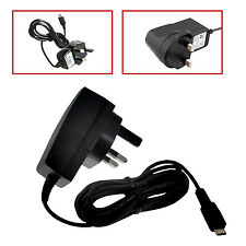 3 PIN MICRO USB UK MAINS CE ROHS AC WALL CHARGER FOR MOTOROLA MOTO G 2 2ND GEN