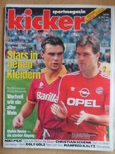 KICKER 40 - 21.5. 1991 Berthold Dortmund-Bayern 2:3 HSV-Uerdingen 2:0 C.Schenk