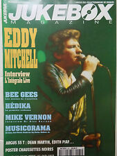 revue JUKEBOX MAGAZINE n°81 - EDDY MITCHELL BEE GEES MIKE VERNON HEDIKA