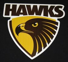 10 PACK HAWTHORN HAWKS AFL LOGO MEGA SPOT CAR DECAL STICKER BOAT LARGE