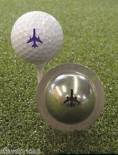 TIN CUP. GOLF BALL MARKER SISTEMA LET IT FLY