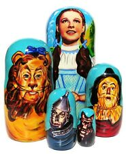 Wizard Of Oz Nesting Doll 5-Piece Russian Stacking Doll Best Christmas Present
