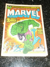 THE MIGHTY WORLD OF MARVEL Comic -  No 33 - Date 10/05/1973 - Marvel Comic