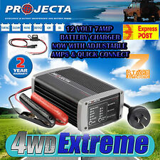 PROJECTA IC700 BATTERY CHARGER 12 VOLT 7 AMP AUTOMATIC 7 STAGE AGM DEEP CYCLE
