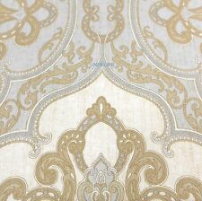 CHARISMA Marrakesh KING DUVET COVER NWT Blue Gold Ivory PAISLEY FLORAL Cotton