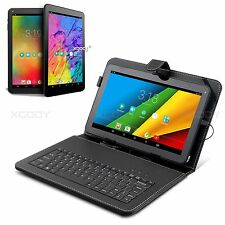 "10.1"" Android 5.1 Tablet PC Quad-Core 16GB Dual Camera XGODY 10 inch W/ Keyboard"