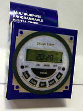 Multipurpose Timer switch programmable  Frontier Digital Timer  Timer