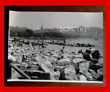 FOTOGRAFIA PHOTO VINTAGE B/N BLACK AND WHITE 1978 LO SCOGLIONE MERGELLINA NAPOLI