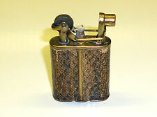 "IMCO ""SUPER"" LIGHTER WITH LIZARD SKIN - ""JULIUS FRANZ MASTER"" - 1928 - AUSTRIA"