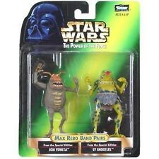 Star Wars Power of the Force Max Rebo Band Pairs Joh Yowza and Sy Snootles-New!