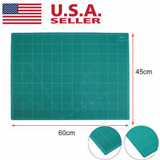 """18"""" x 24"""" GREEN Self Healing 5-Ply Double Sided Durable PVC Cutting Mat NEW BP"""