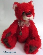 Charlie Bears JACKPOT - New Isabelle Collection Mohair/Alpaca Bear