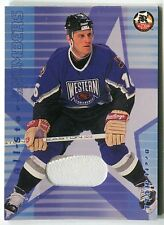 Brett Hull 2001-02 Be a Player All-Star Number Patch Card /10 *AA818