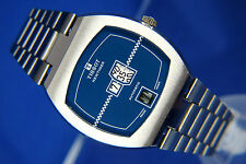 VINTAGE Tissot automatico digitale JUMP HOUR WATCH 1970s, Cal 2581 NOS NEW OLD