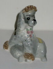 Vintage Ceramic Spaghetti Dog Poodle Cherie Josef Originals California Pottery